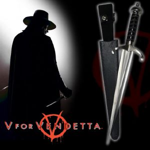 V FOR VENDETTA - DAGUE OFFICIELLE