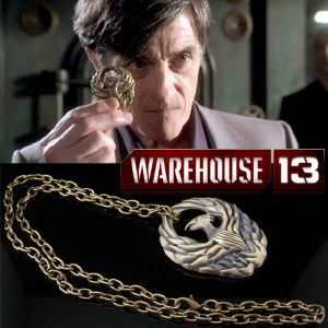 WAREHOUSE 13 (SERIE) - MEDAILLON PHOENIX OFFICIEL