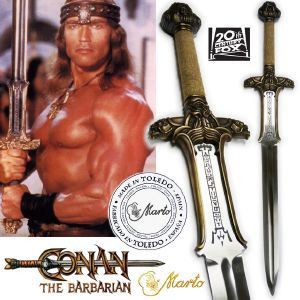 "CONAN -  SWORD ATLANTEAN OFFICIELLE LIMITED EDITION (VERSION EUROPE/TOLEDO ""MARTO"")"