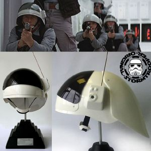 STAR WARS - REBEL FLEET CASQUE MOULAGE D'ORIGINE OFFICIEL SIGNATURE EDITION AVEC SUPPORT DELUXE