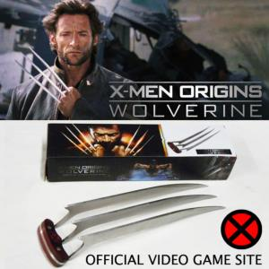 "X-MEN : ORIGINS - WOLVERINE GRIFFE ""X-CLAW"" OFFICIAL VIDEO GAME SITE"