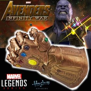 "AVENGERS 3: INFINITY WAR - GANTELET THANOS "" OFFICIEL TAILLE 1/1 ARTICULE (HASBRO - MARVEL LEGENDS)"