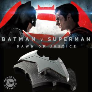 BATMAN VS SUPERMAN - BATMAN BATARANG OFFICIEL (DC COMICS - QUANTUM MECHANIX)