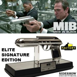 MEN IN BLACK (M.I.B.) - BLASTER STANDARD ISSUS AGENT SIDEARM (J2) ELITE SIGNATURE EDITION PROP REPLICA (FACTORY ENTERTAINMENT - SIDESHOW)