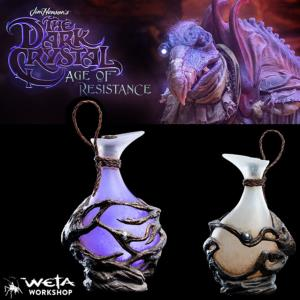 "DARK CRYSTAL (THE) (SERIE NETFIX) - FIOLE OFFICIELLE TAILLE 1/1 "" ESSENCE VIAL "" (WETA COLLECTIBLES)"