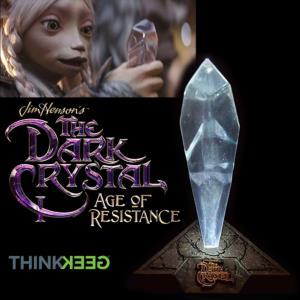 DARK CRYSTAL (THE) (SERIE NETFIX) - ECLAT DE CRISTAL (CRYSTAL SHARD) OFFICIEL TAILLE 1/1 (THINKGEEK)