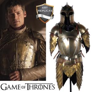 GAME OF THRONES - REPRODUCTION ARMURE ET CASQUE LANNISTER ET MOUNTAIN ZOMBIE (ART REPLICAS)