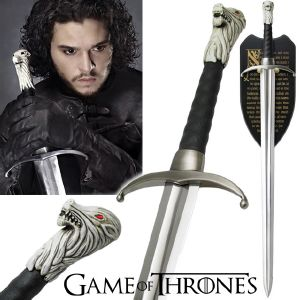GAME OF THRONES - LONGCLAW SWORD OF JON SNOW OFFICIELLE LIMITED EDITION