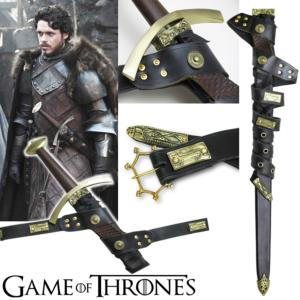 GAME OF THRONES - FOURREAU DE L'EPEE DE ROBB STARK OFFICIEL LIMITED EDITION (500 PIECES)