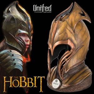 THE HOBBIT - CASQUE ELFIQUE MIRKWOOD INFANTRIE OFFICIEL NUMEROTE LIMITED EDITION (UNITED CUTLERY)