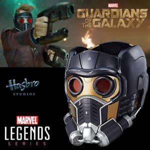 GARDIENS DE LA GALAXIE (LES) - CASQUE OFFICIEL STAR LORD AVEC SON & LUMIERE (HASBRO -MARVEL LEGENDS)