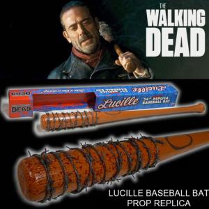 "WALKING DEAD (THE) - BATTE DE BASEBALL SANGLANTE ""LUCILLE"" DE NEGAN OFFICIELLE (SKYBOUND - PVC)"
