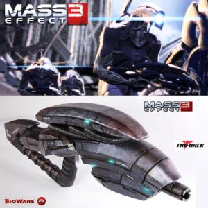 MASS EFFECT 3 - GETH PULSE RIFLE OFFICIEL ECHELLE 1/1 (BIOWARE - TRIFORCE)