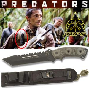 PREDATORS - STEEL EAGLE OFFICIEL (IMPORT USA TOPS KNIVES)