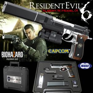 RESIDENT EVIL 6 (BIOHAZARD)  - ALBERT WESKER MODEL 1 OFFICIEL LIMITED EDITION