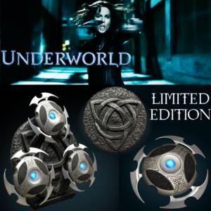 UNDERWORLD - SELENE'S THROWING STARS OFFICIELS (SHURIKENS PROP REPLICA)