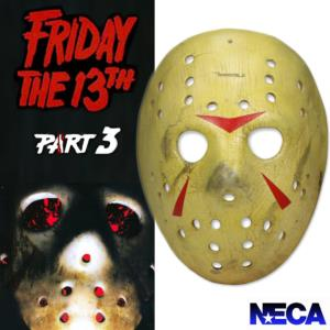 FRIDAY THE 13TH : PART 3 (VENDREDI 13) - MASQUE DE JASON OFFICIEL (VERSION RESINE PAR NECA)