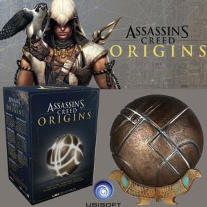 ASSASSIN'S CREED : ORIGINS - APPLE OF EDEN OFFICIEL AVEC ECLAIRAGE PAR LED (ECHELLE 1/1)