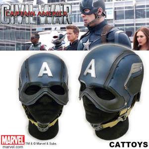 CAPTAIN AMERICA: CIVIL WAR - CAPTAIN AMERICA CASQUE OFFICIEL AVEC SUPPORT (MARVEL - CATTOYS)