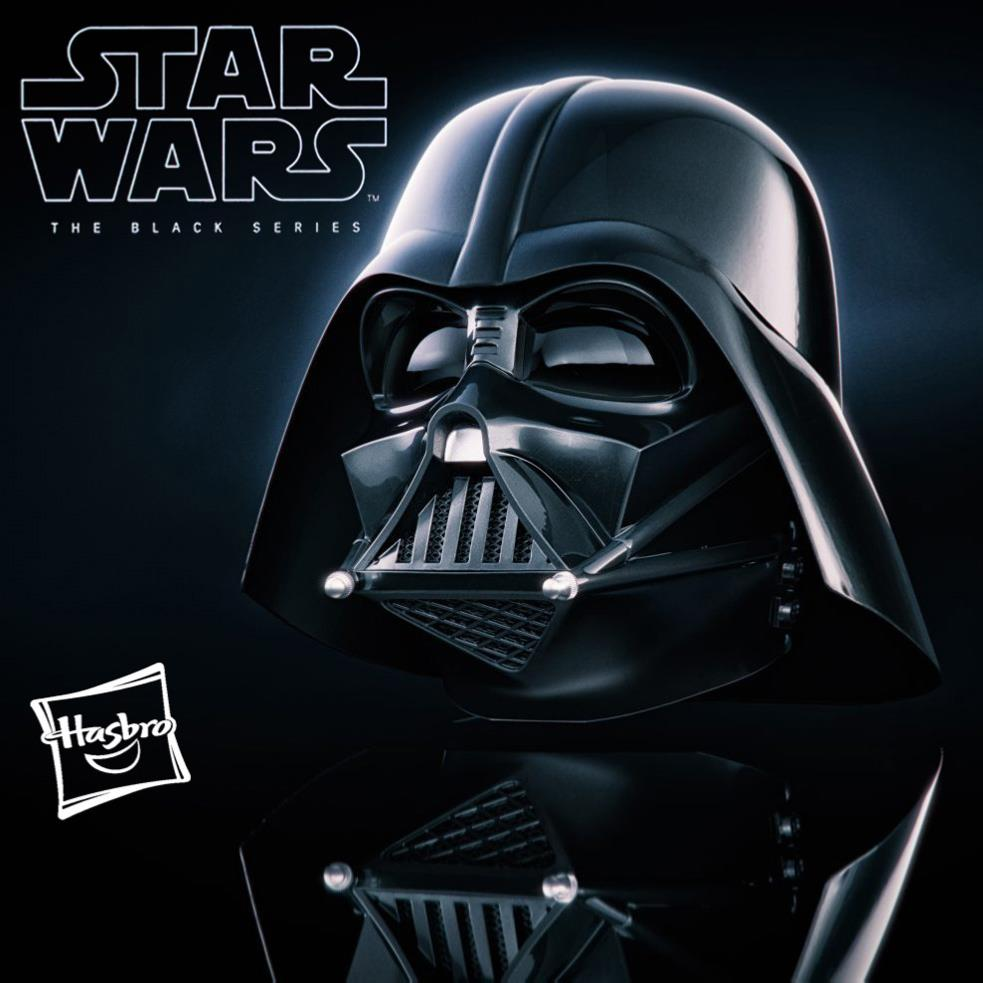 star wars casque dark vador officiel avec fonction electronique hasbro the black series. Black Bedroom Furniture Sets. Home Design Ideas