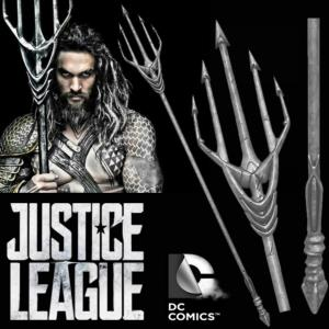 JUSTICE LEAGUE - AQUAMAN TRIDENT OFFICIEL (DC COMICS - THE NOBLE COLLECTION)