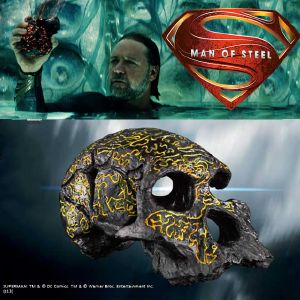 "SUPERMAN (MAN OF STEEL) - CRANE CODEX OFFICIEL ""THE CODEX SKULL"""
