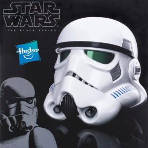 STAR WARS - CASQUE STORMTROOPER OFFICIEL AVEC CHANGEUR DE VOIX (HASBRO - THE BLACK SERIES)