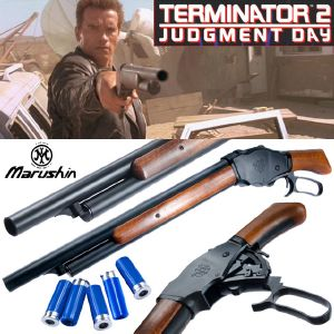 TERMINATOR 2 - SHOTGUN ROSE BOX OFFICIEL LIMITED EDITION EN BOIS VERITABLE