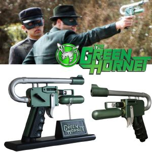 THE GREEN HORNET - GAS GUN OFFICIEL & SUPPORT DELUXE