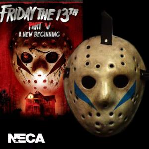 FRIDAY THE 13TH : A NEW BEGINNING, PART V (VENDREDI 13) - MASQUE DE JASON OFFICIEL (VERSION RESINE)