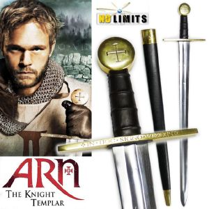 ARN (THE KNIGHT TEMPLAR) - EPEE REPRODUCTION AUTHENTIQUE (PRACTICAL MAITRE FORGERON - NO LIMITS)