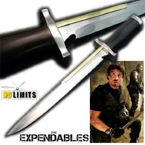 THE EXPENDABLES - POIGNARD TOOTHPICK REPRODUCTION AUTHENTIQUE (MAITRE FORGERON - NO LIMITS)
