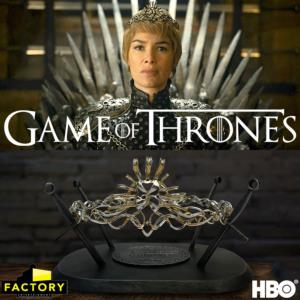 GAME OF THRONES - COURONNE DE LA REINE CERSEI LANNISTER LIMITED EDITION PROP REPLICA (HBO)