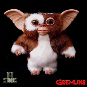 GREMLINS - REPRODUCTION GIZMO TAILLE 1/1 OFFICIELLE (GIZMO PUPPET PROP - TOT STUDIOS)