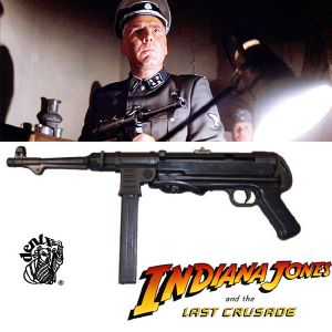 INDIANA JONES - PISTOLET MITRAILLEUR MP40 TOUT EN METAL