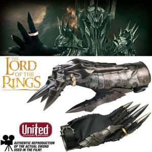 LOTR - SAURON GANTELET & ANNEAU OFFICIEL LIMITED EDITION