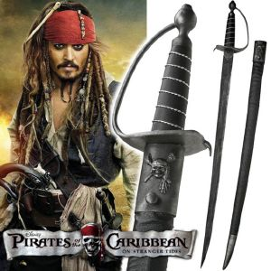 PIRATES DES CARAIBES - SABRE CAPTAIN JACK SPARROW (VERSION ART REPLICAS)