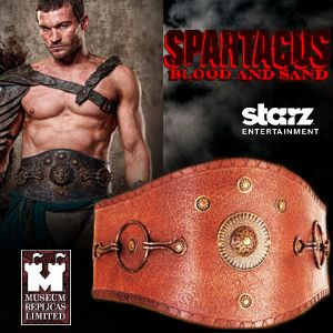 SPARTACUS : BLOOD & SAND - CEINTURON SPARTACUS OFFICIEL (STARZ ENTERTAINMENT LLC - WINDLASS STUDIOS)
