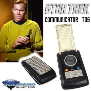 STAR TREK - COMMUNICATOR TOS OFFICIELS (DIAMOND SELECT)