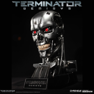 TERMINATOR GENISYS - T-800 ENDOSKELETON SKULL BUSTE REPLICA ECHELLE 1:1 LIMITED EDITION