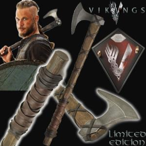 VIKINGS (SERIE) - HACHE RAGNAR LOTHBROK OFFICIELLE LIMITED EDITION