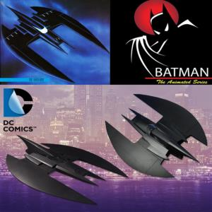 BATMAN, ANIMATED SERIES - BATWING OFFICIEL 84 CM (DC COLLECTIBLES)