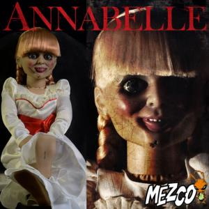 ANNABELLE - AUTHENTIC MOVIE PROP REPLICA TAILLE 1/1 OFFICIELLE (PUPETT - MEZCO)