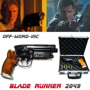BLADE RUNNER 2049 - BLASTER EDITION LIMITEE (VERSION OFF-WORD-INC™) + MALLETTE DELUXE ALUMINIUM