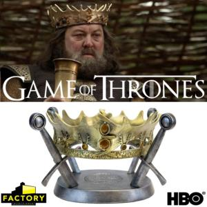 GAME OF THRONES - COURONNE DU ROI ROBERT BARATHEON LIMITED EDITION PROP REPLICA (HBO)