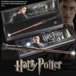 HARRY POTTER - BAGUETTE LUMINEUSE OFFICIELLE