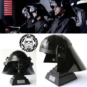 STAR WARS - IMPERIAL NAVY CASQUE MOULAGE D'ORIGINE OFFICIEL SIGNATURE EDITION AVEC SUPPORT DELUXE