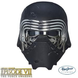 STAR WARS - CASQUE CHEVALIER KYLO REN OFFICIEL AVEC CHANGEUR DE VOIX (HASBRO - THE BLACK SERIES)