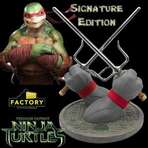 NINJA TURTLES - RAPHAEL SAI SIGNATURE EDITION MONOCHROME (ECHELLE 1:1  FACTORY ENTERTAINMENT)
