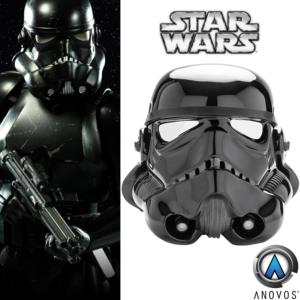 STAR WARS - CASQUE SHADOW STORMTROOPER OFFICIEL (ANOVOS)
